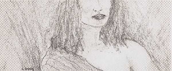 Wall Art - Drawing - Angie by Lessandra Grimley