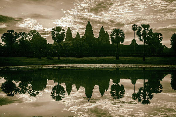 Wall Art - Photograph - Angkor by Stephen Stookey