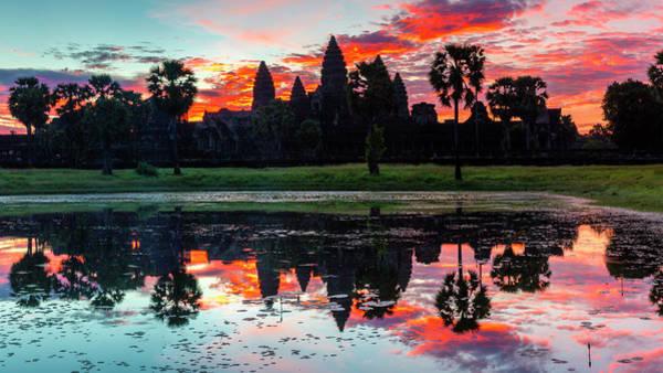 Wall Art - Photograph - Angkor Sunrise #1 by Stephen Stookey