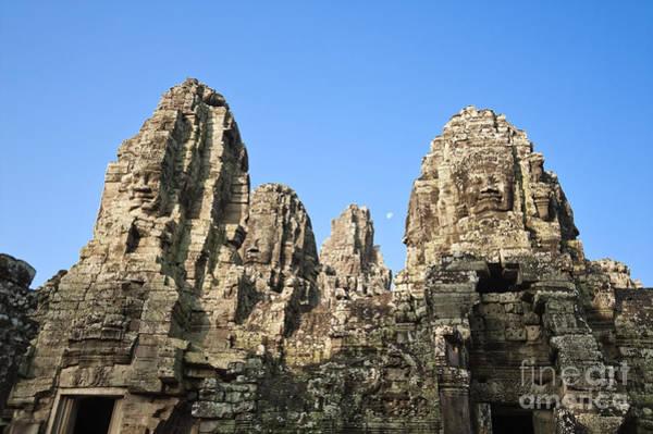 Adorn Photograph - Angkor Thom by Bill Brennan - Printscapes