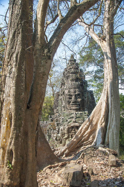 Photograph - Angkor Thom South Gate by Rob Hemphill