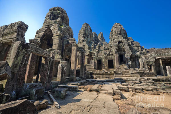 Adorn Photograph - Angkor Thom Landscape by Bill Brennan - Printscapes
