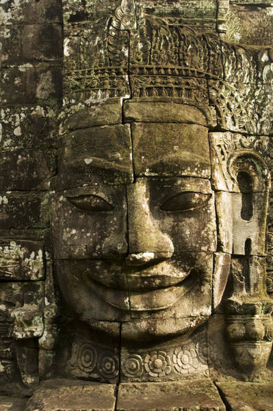 Photograph - Angkor Wat Face by Jed Holtzman