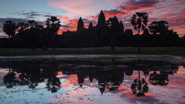 Wall Art - Photograph - Angkor Wat Sunrise by Stephen Stookey
