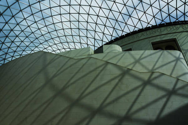 Photograph - Angles, British Museum, London, England by Chris Coffee
