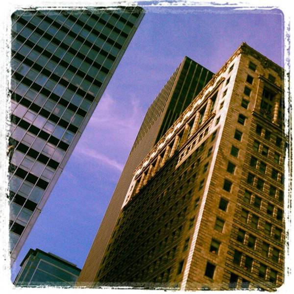 Photograph - Angles: Downtown Chicago Architectjre by Tammy Winand