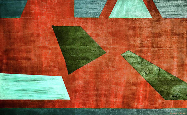 Photograph - Angles Acrylic Abstract by Roberta Byram