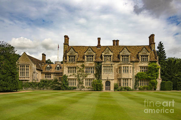 Wall Art - Photograph - Anglesey Abbey by Svetlana Sewell