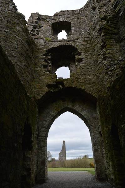 Wall Art - Photograph - Anglo - Norman Castle. by Terence Davis