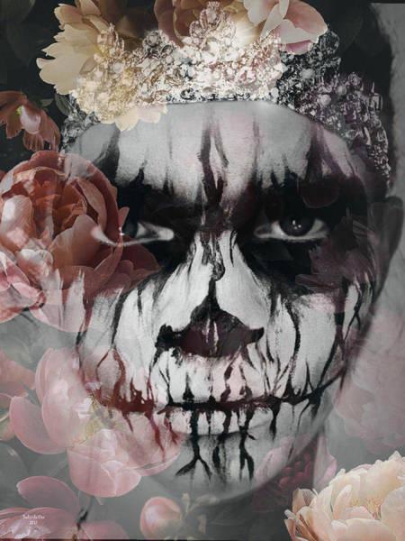 Digital Art - Angry Ghost Princess by Artful Oasis