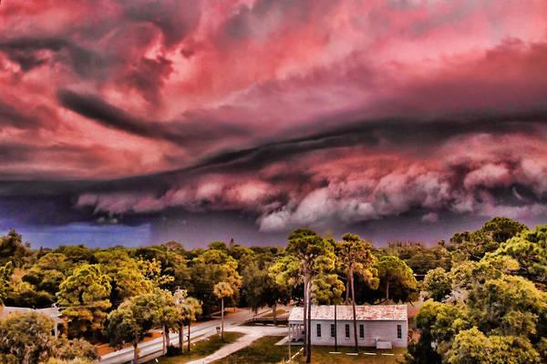 Photograph - Angry Sky by Richard Goldman