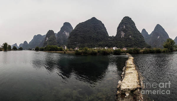 Photograph - angshuo and Guilin in China by Didier Marti