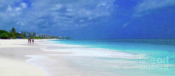 Wall Art - Photograph - Shoal Beach Anguilla by Jerome Stumphauzer