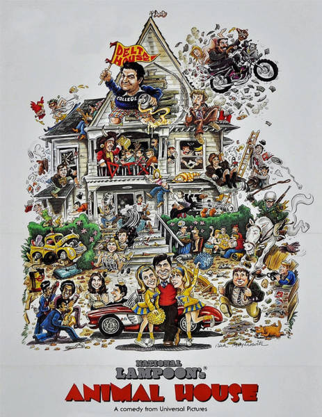Animal House  Art Print