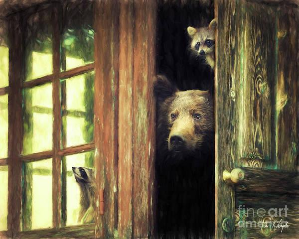 Digital Art - Animal House by Tim Wemple
