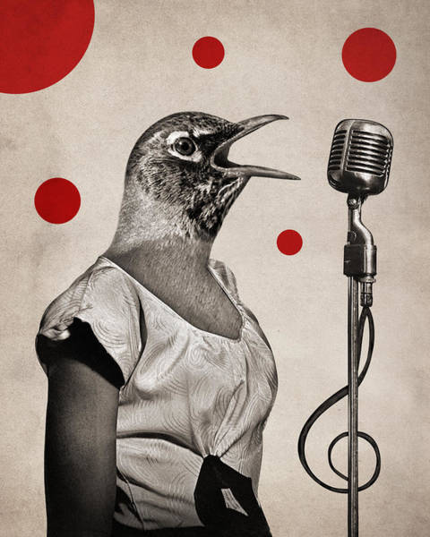 Sing Photograph - Animal16 by Francois Brumas