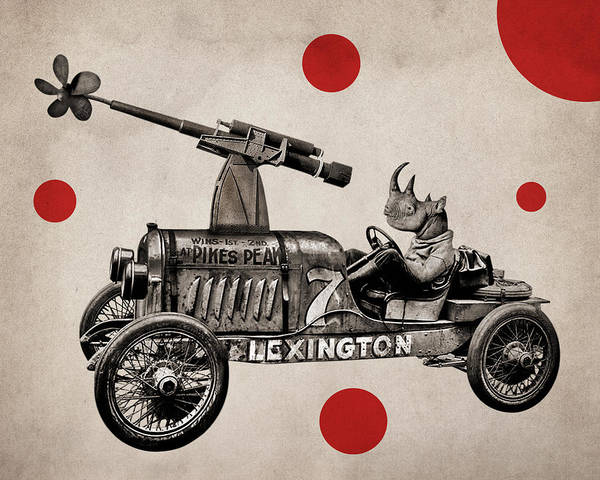 Funny Car Wall Art - Photograph - Animal22 by Francois Brumas
