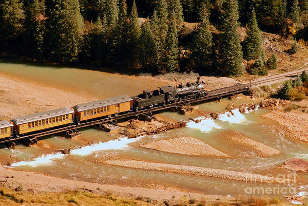 Thompson River Photograph - Animas River Crossing by David Lee Thompson