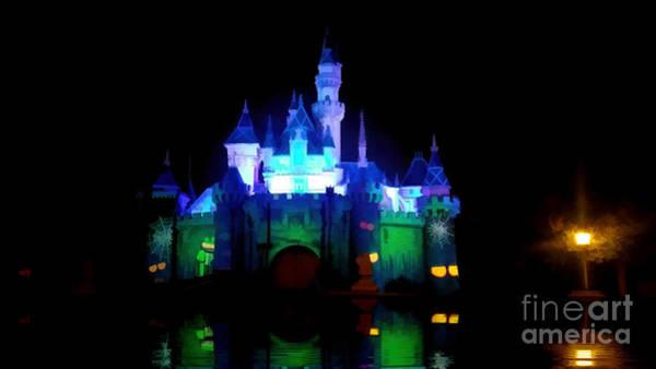 Photograph - Animated Castle by Joe Lach