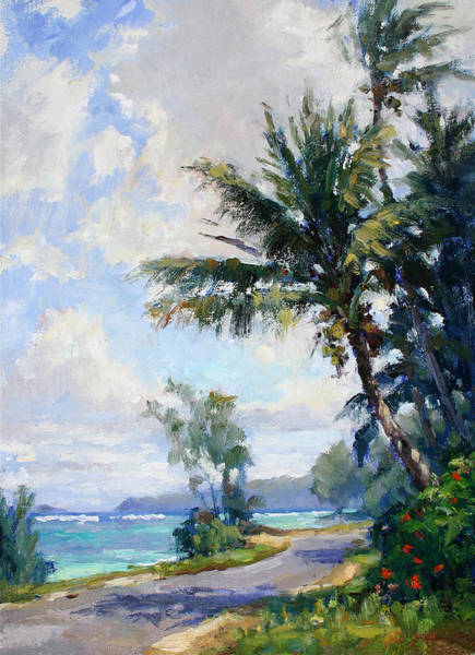 Wall Art - Painting - Anini Road by Jenifer Prince