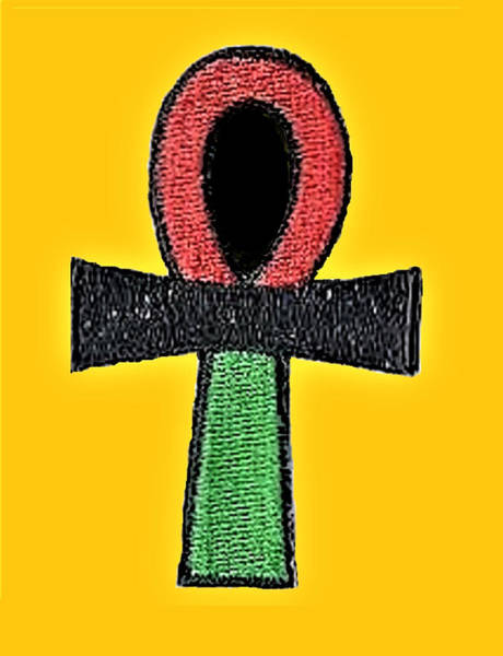 Tapestry - Textile - Ankh Life by Adenike AmenRa