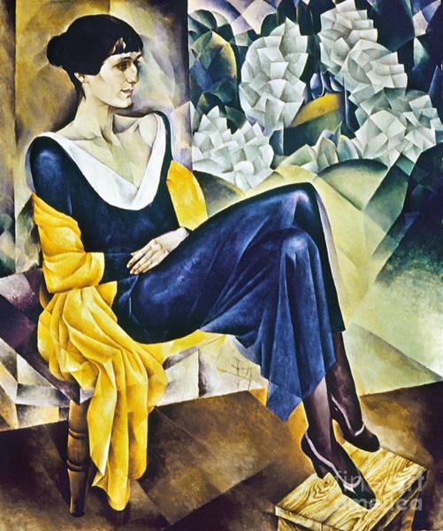 Wall Art - Photograph - Anna Akhmatova (1889-1967) by Granger