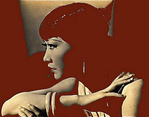Photograph - Anna May Wong Circa 1930 Color Added 2012 by David Lee Guss