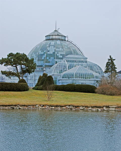 Belle Isle Photograph - Anna Scripps Conservatory by Michael Peychich