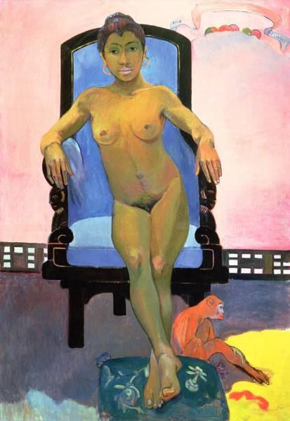 Java Painting - Annah The Javanese by Paul Gauguin
