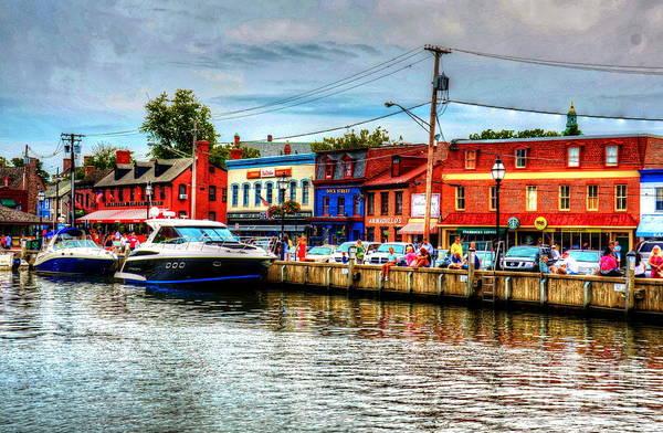 Maryland Photograph - Annapolis City Docks by Debbi Granruth