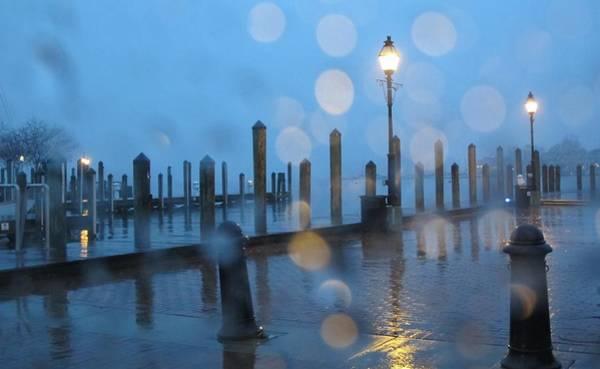 Wall Art - Photograph - Annapolis Rain Stories by Valia Bradshaw