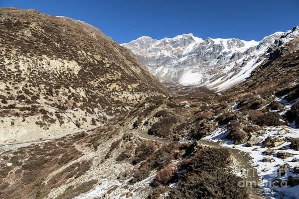 Photograph - Annapurna Circuit Trekking Path In Nepal by Didier Marti
