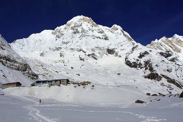 Photograph - Annapurna South View by Aidan Moran