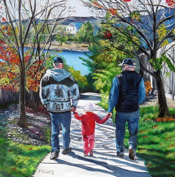 Painting - Anna's Grandpa's by Marilyn  McNish