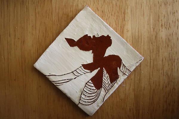 Ceramic Art - Anne Marie - Tile by Gloria Ssali