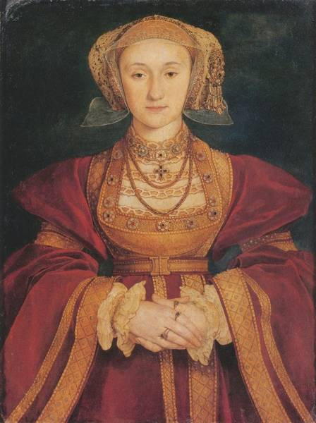 Wall Art - Painting - Anne Of Cleves by Hans Holbein