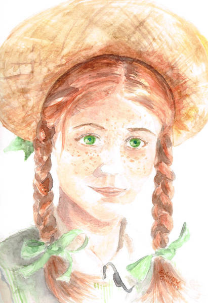 Painting - Anne Of Green Gables by Andrew Gillette