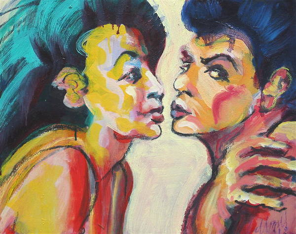 Annette And Frankie Art Print