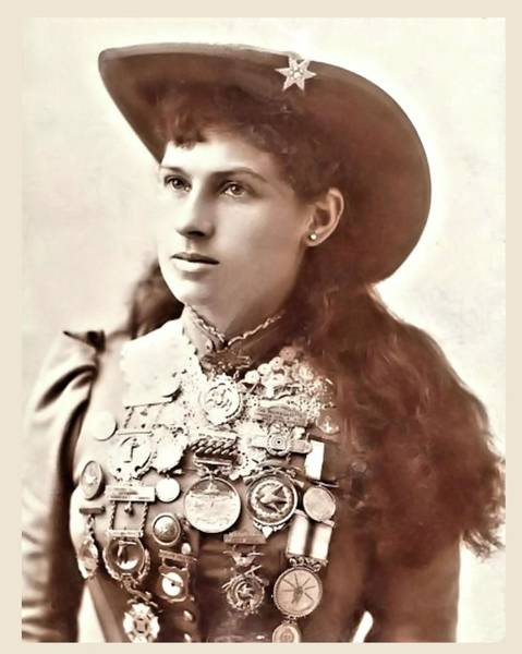 Photograph - Annie Oakley 1 by John Feiser