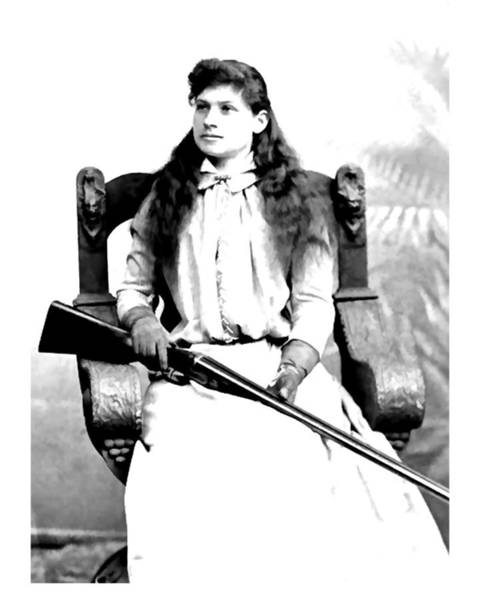 Photograph - Annie Oakley 2 by John Feiser