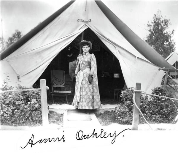 Photograph - Annie Oakley Tent by John Feiser