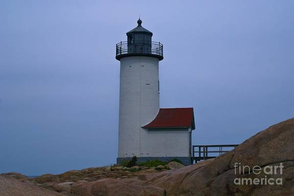 Photograph - Annisquam Light. Gloucester, Ma. by New England Photography