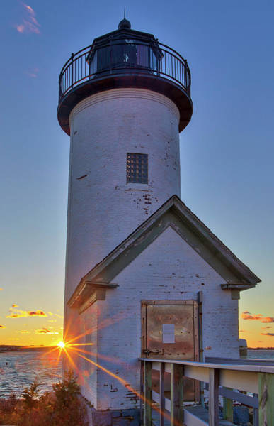 Photograph - Annisquam Lighthouse by Juergen Roth