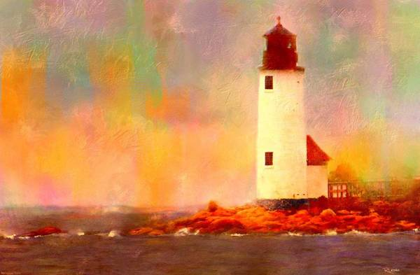 Painting - Annisquam Rainbow by Sand And Chi