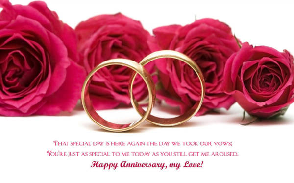 Flower Digital Art - Anniversary by Super Lovely