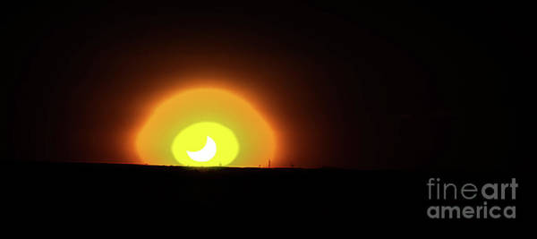 Photograph - Annular Sunset by Jon Burch Photography