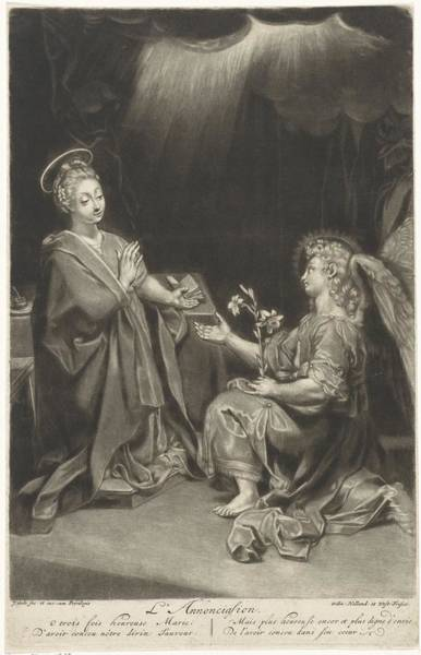 Painting - Annunciation by Celestial Images