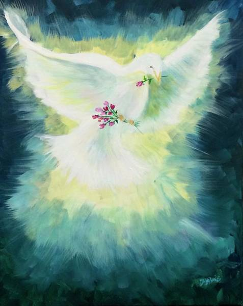 Painting - Anointed by Lisa DuBois
