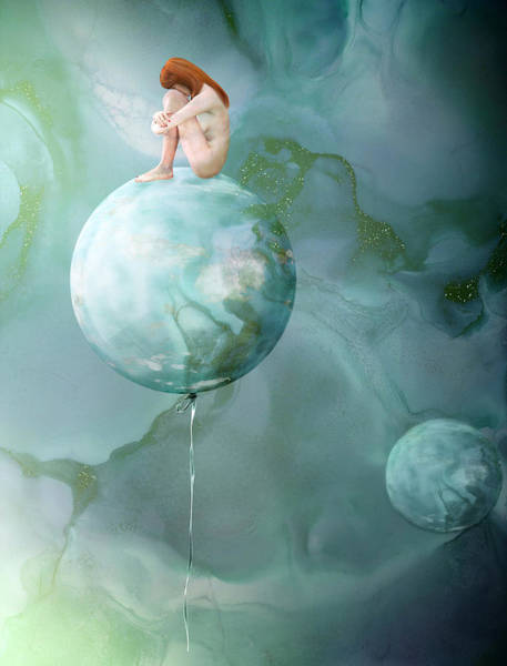 Disorder Wall Art - Digital Art - Anorexia by Jacky Gerritsen