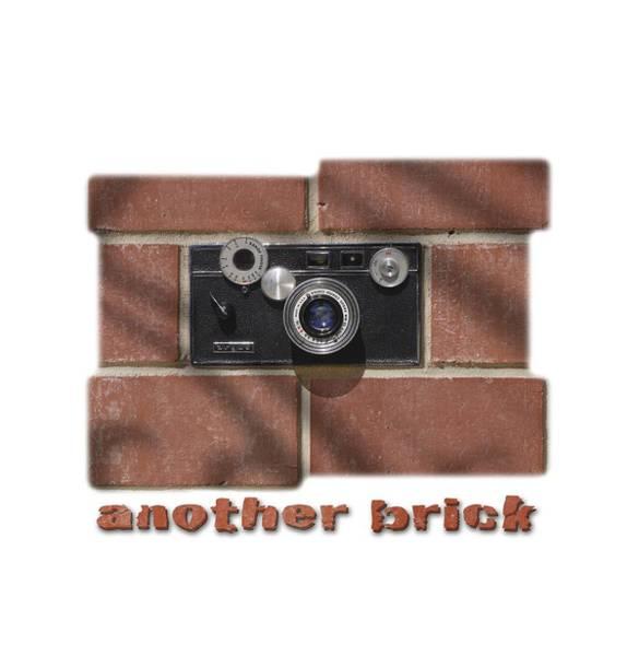 Red Brick Digital Art - Another Brick . . 2 by Mike McGlothlen